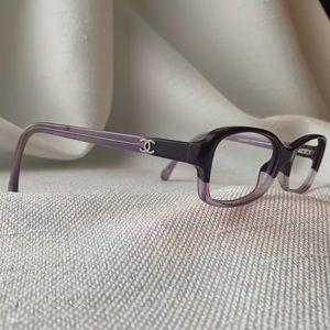Chanel 2Tone Purple Eyglasses Frames